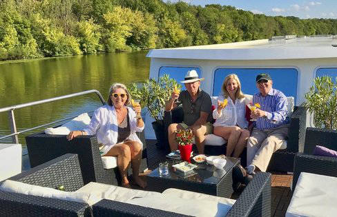 2019 French Canal Barge Cruises